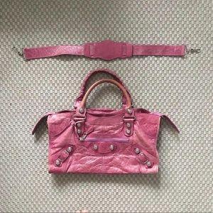 Balenciaga City Pink